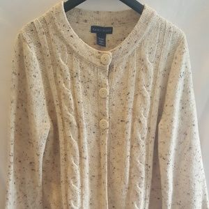 Karen Scott wool cardigan women's sweater